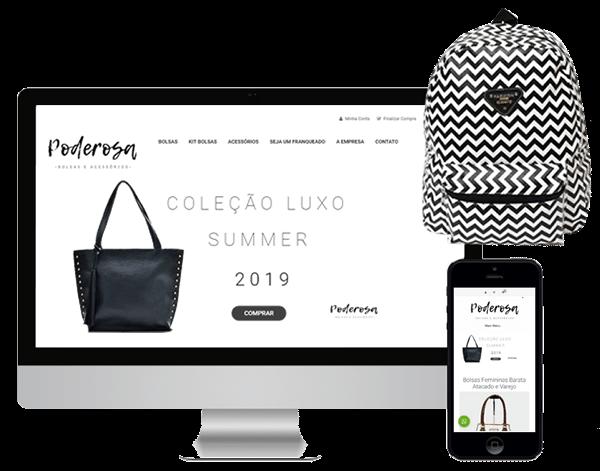 loja virtual responsiva